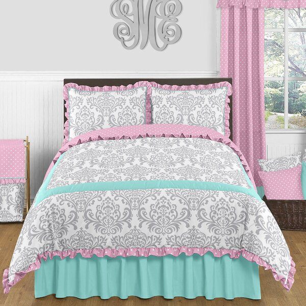 Skylar 100% Cotton Cotton Comforter Set by Sweet Jojo Designs